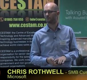 Keynote speaker - Chris Rothwell, Microsoft UK